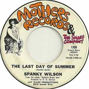 Spanky Wilson - The Last Day Of Summer mp3