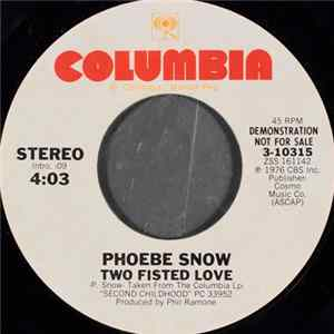 Phoebe Snow - Two Fisted Love mp3