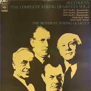 Beethoven - The Budapest String Quartet - Beethoven: The Complete String Quartets Vol.2 mp3