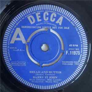 Barry St. John - Bread And Butter / Cry To Me mp3